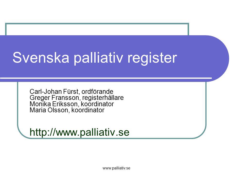 Svenska palliativ register