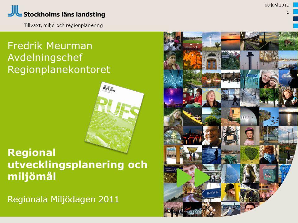 Regional utvecklingsplanering och miljömål
