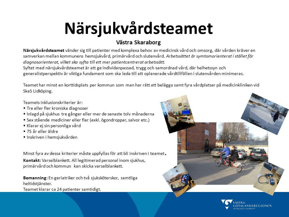 Närsjukvårdsteamet Västra Skaraborg