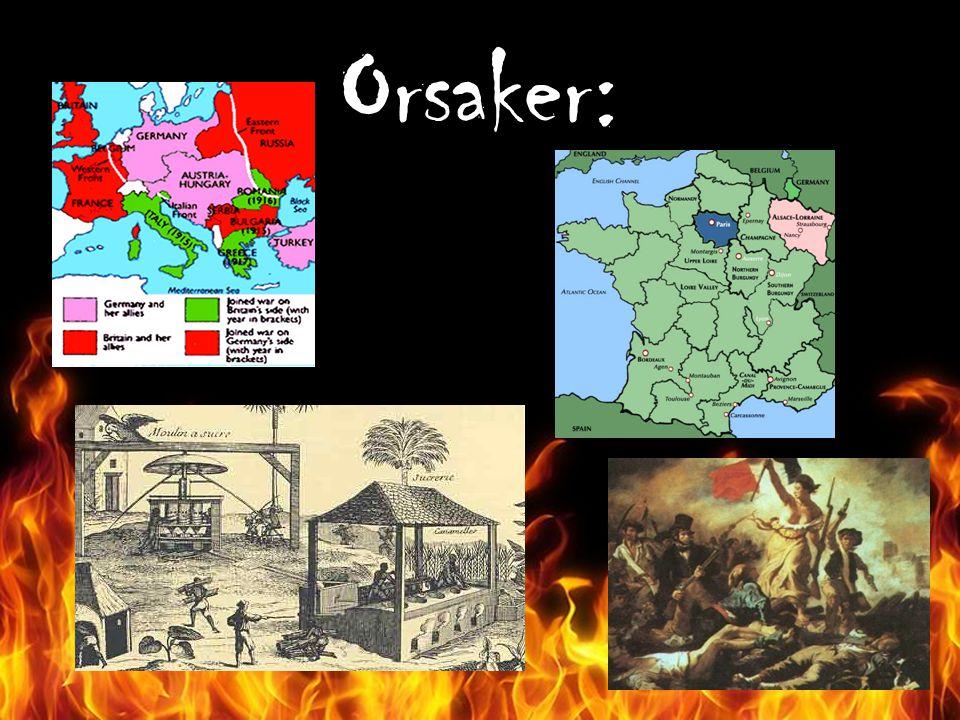 Orsaker: