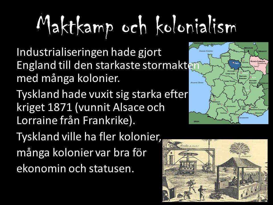 Maktkamp och kolonialism