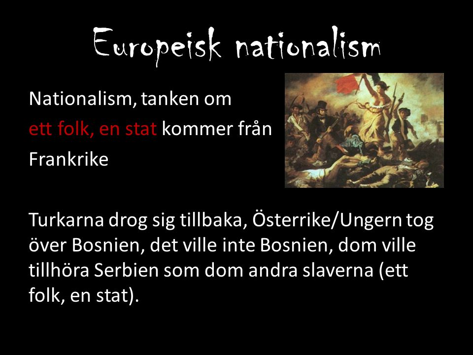 Europeisk nationalism