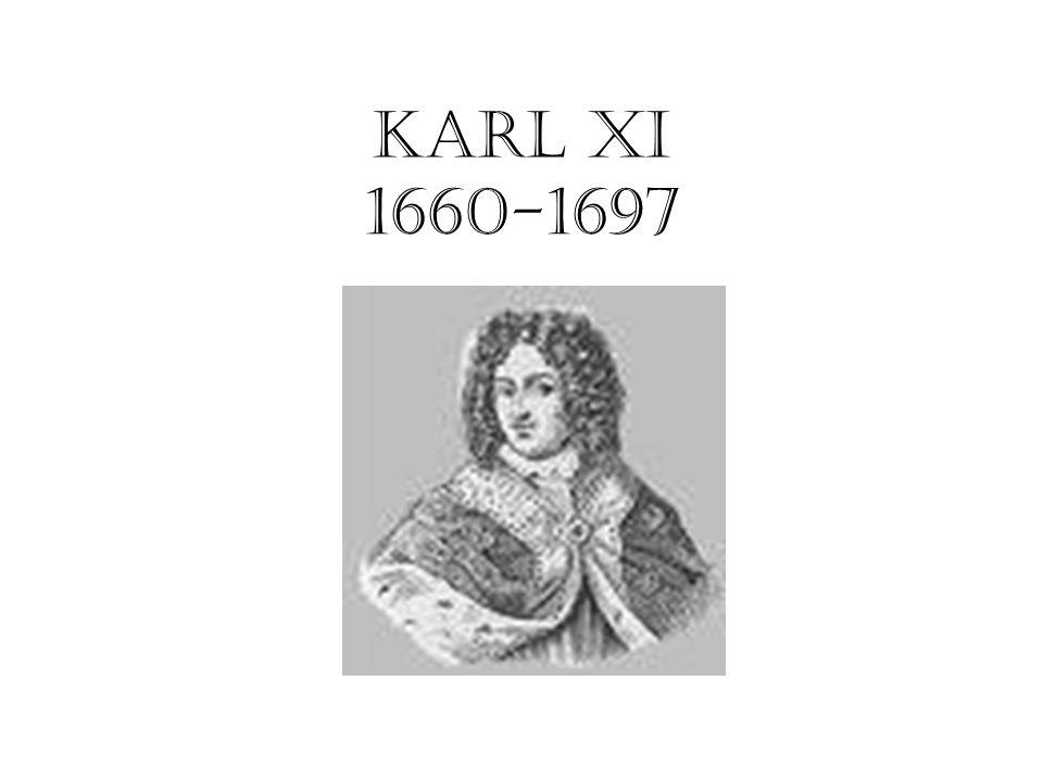 KARL XI 1660-1697