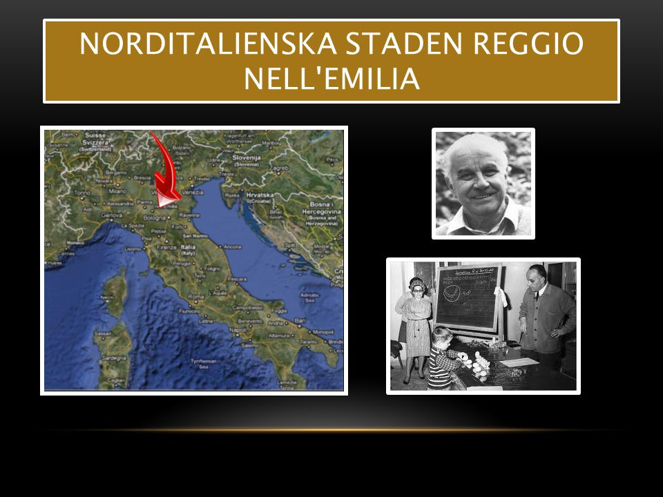 Norditalienska staden Reggio nell Emilia