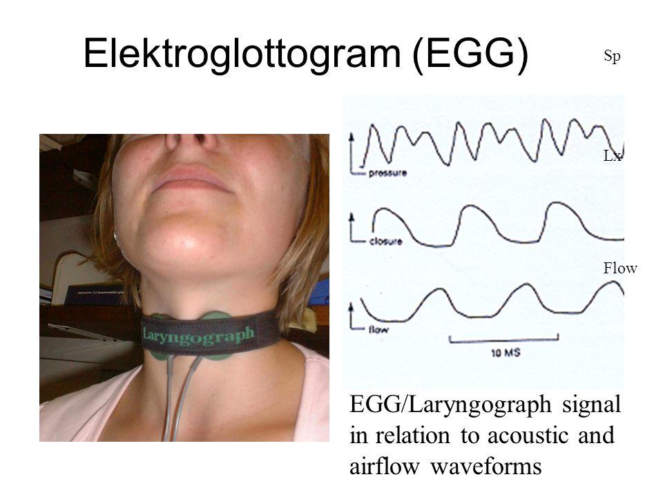 Elektroglottogram (EGG)