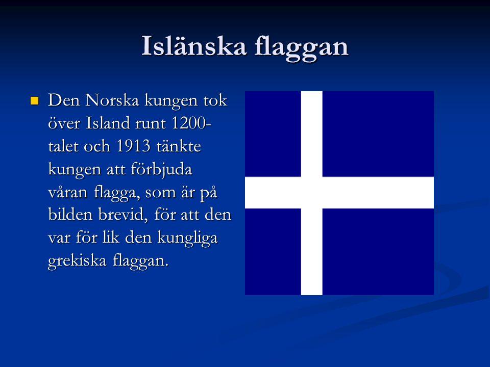 Islänska flaggan