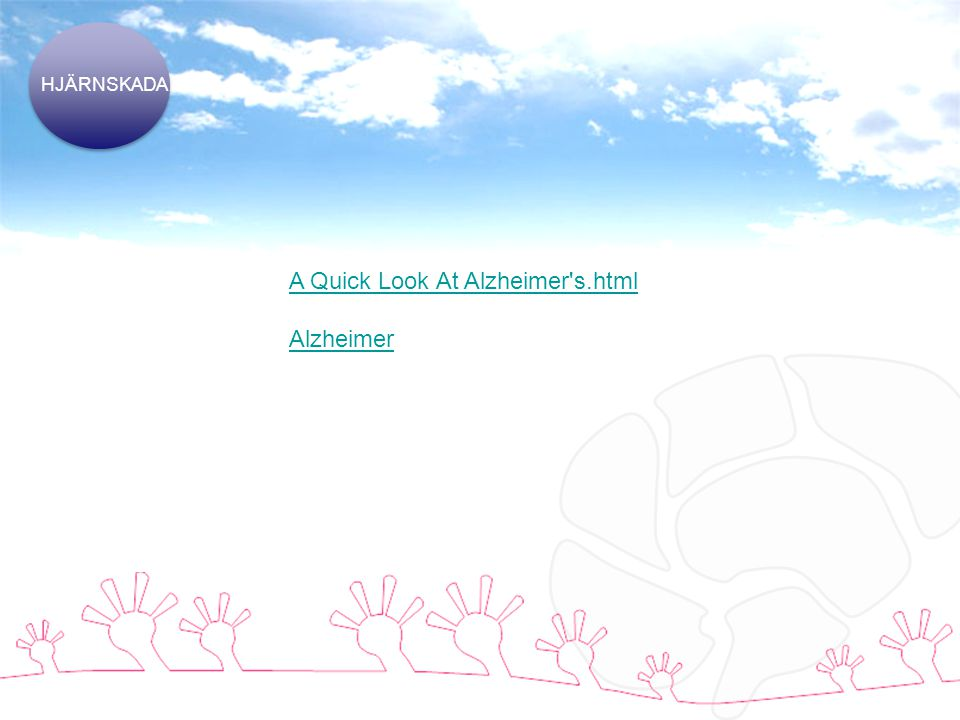 A Quick Look At Alzheimer s.html Alzheimer
