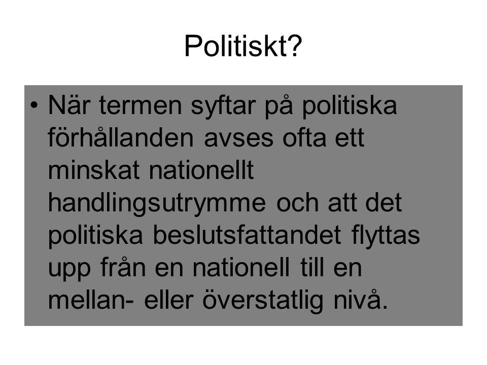 Politiskt
