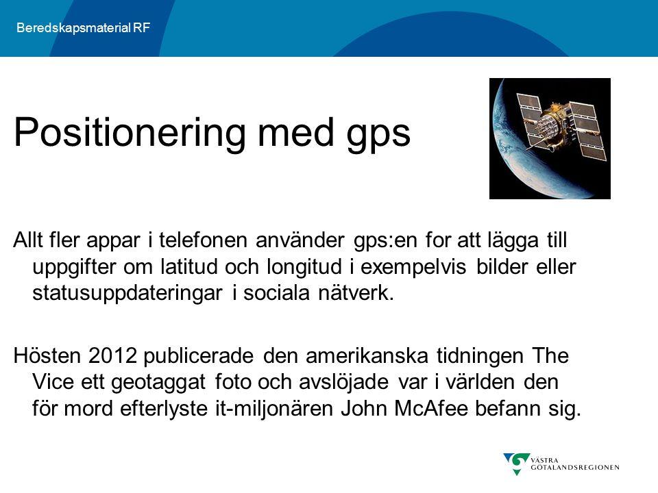 Positionering med gps