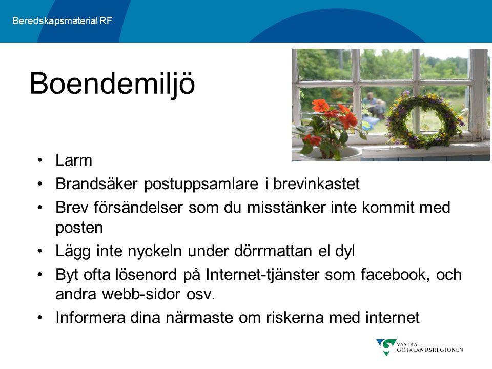 Boendemiljö Larm Brandsäker postuppsamlare i brevinkastet