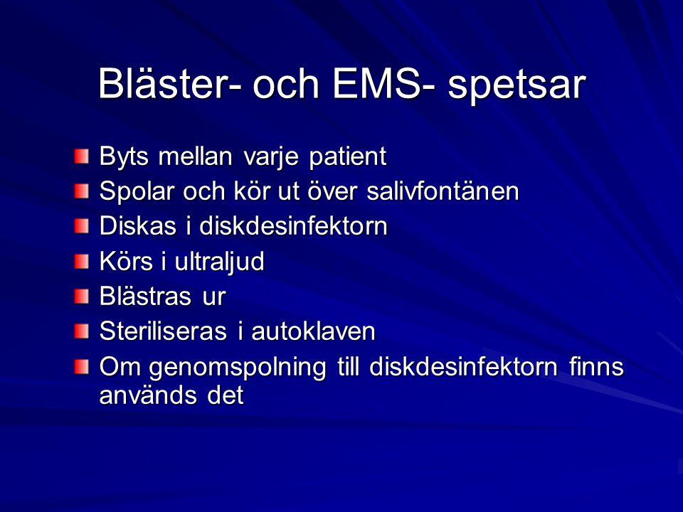 Bläster- och EMS- spetsar