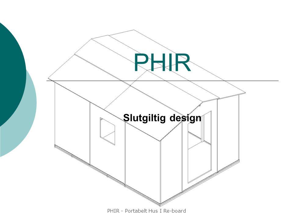 PHIR - Portabelt Hus I Re-board