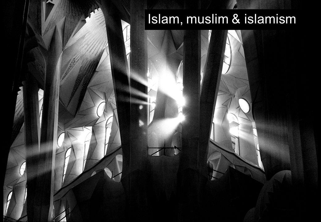 Islam, muslim & islamism