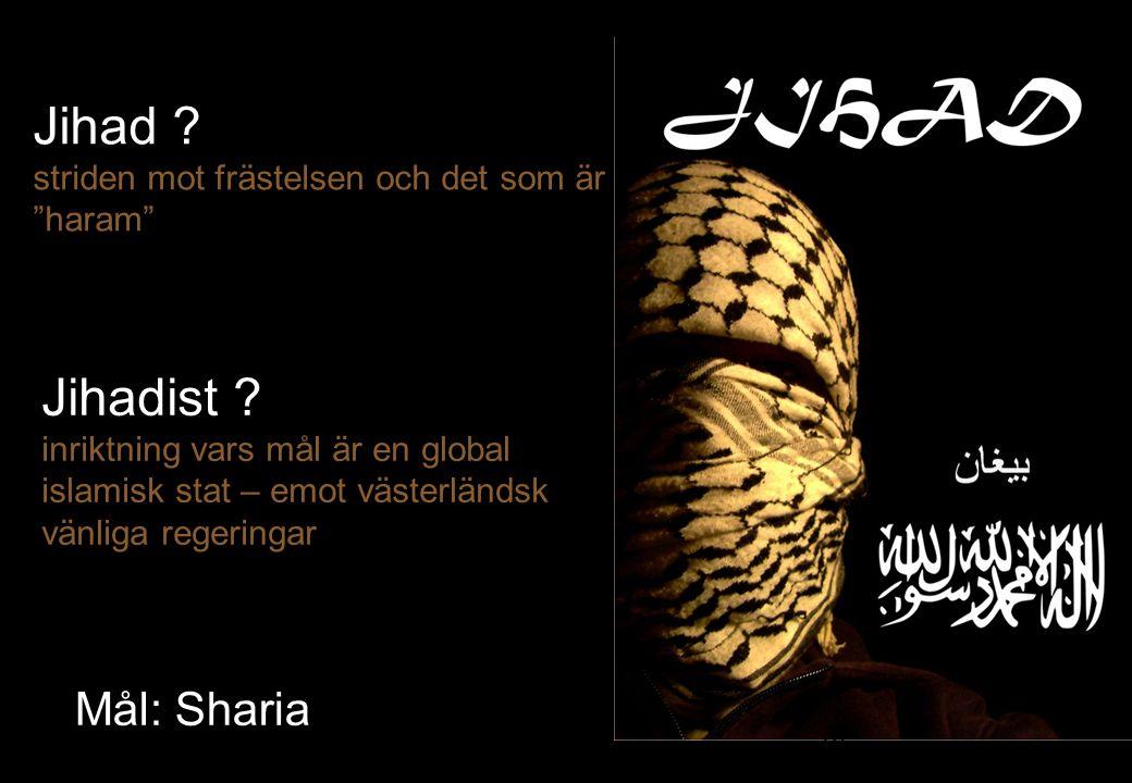 Jihad striden mot frästelsen och det som är haram