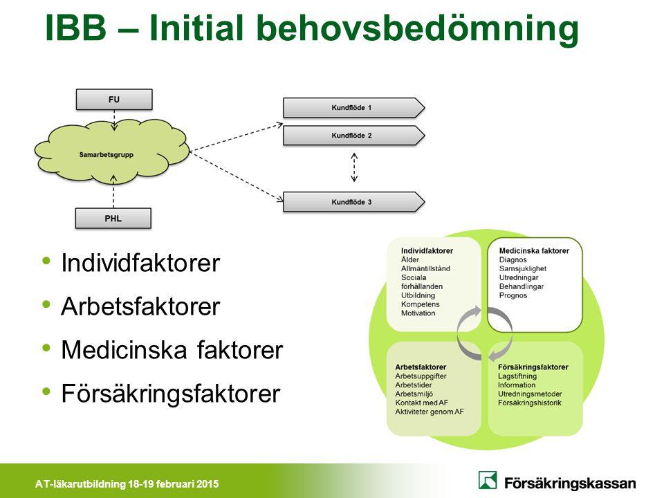 IBB – Initial behovsbedömning