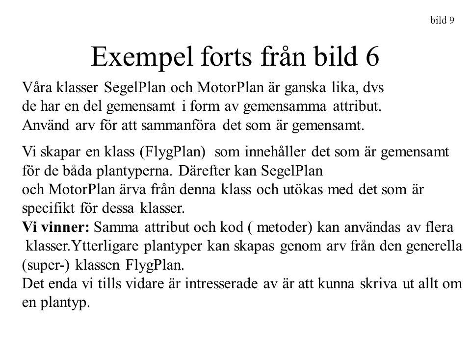 Exempel forts från bild 6