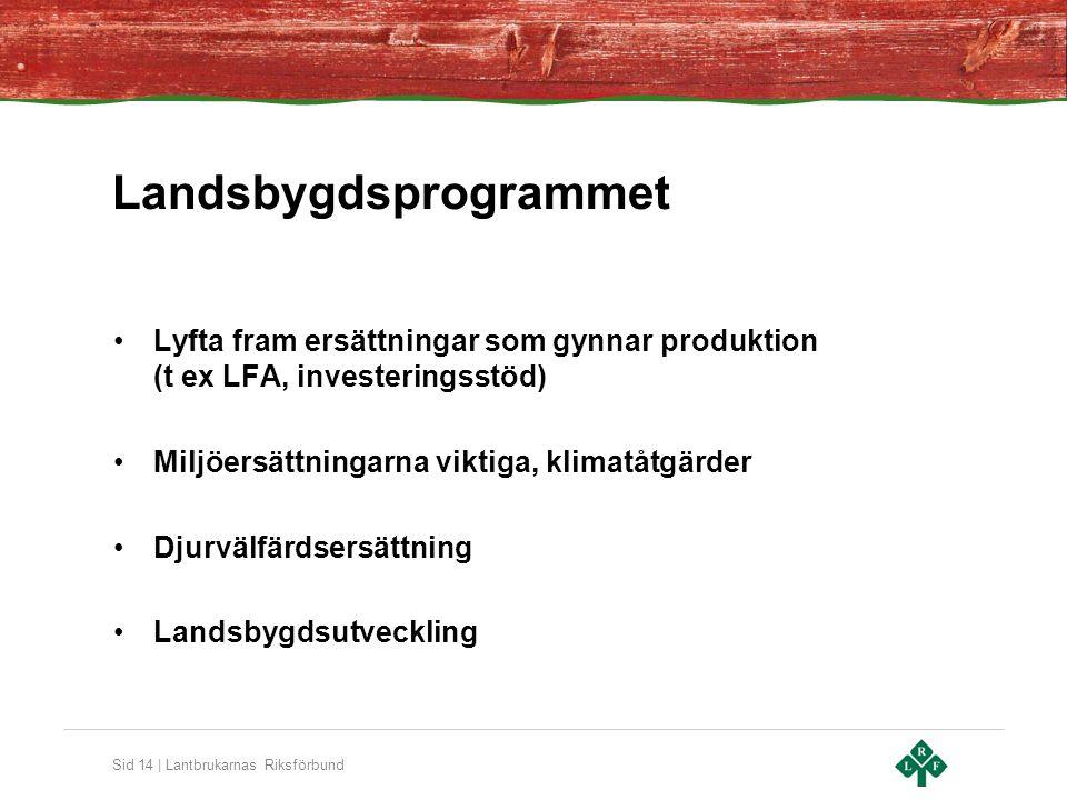 Landsbygdsprogrammet