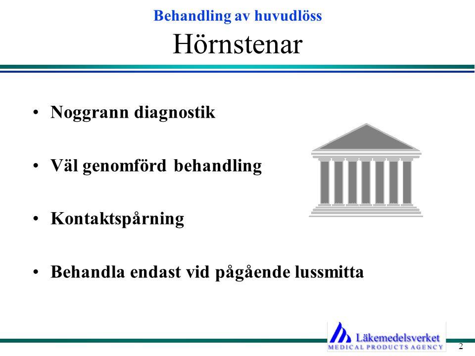 Hörnstenar Noggrann diagnostik Väl genomförd behandling