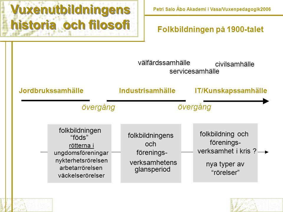 Folkbildningen på 1900-talet