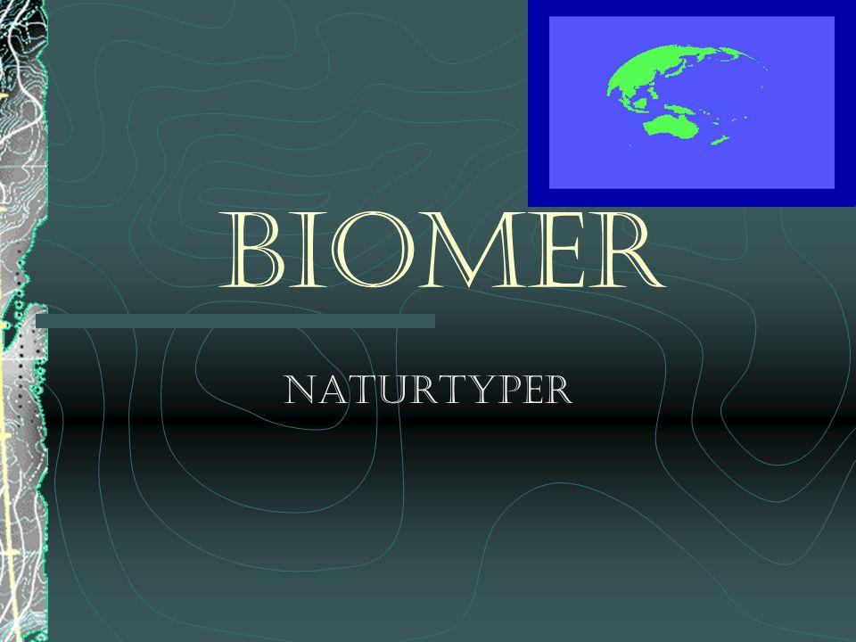 Biomer Naturtyper