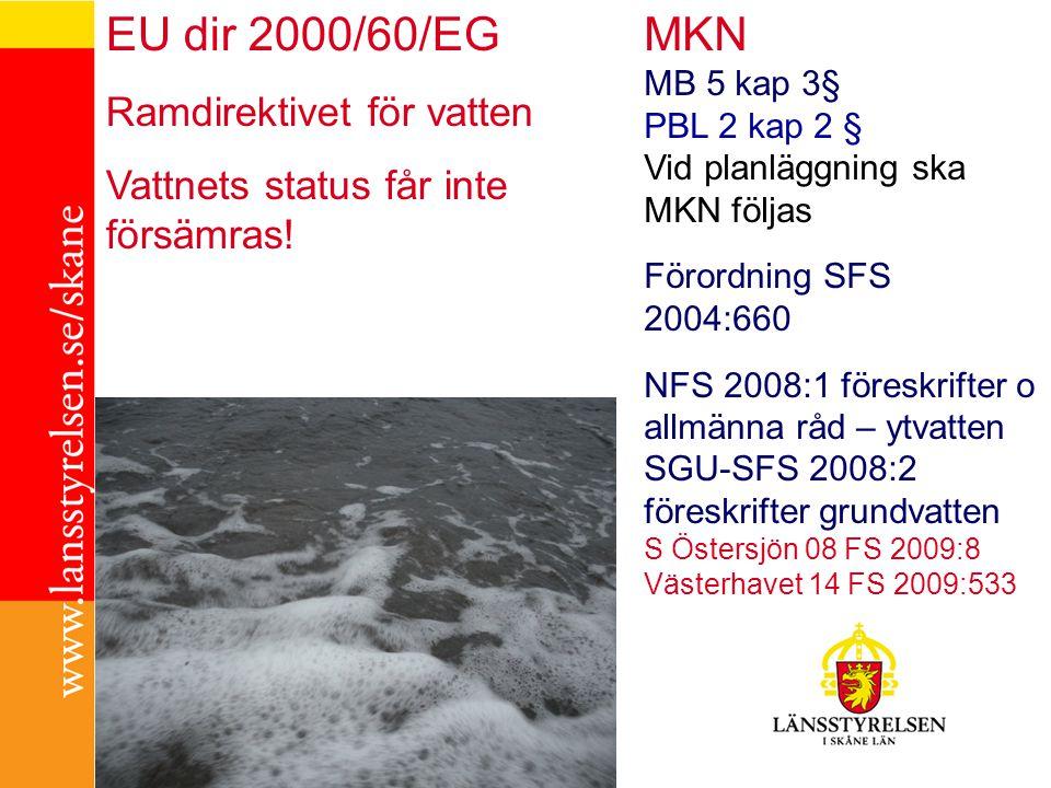 MKN EU dir 2000/60/EG Ramdirektivet för vatten