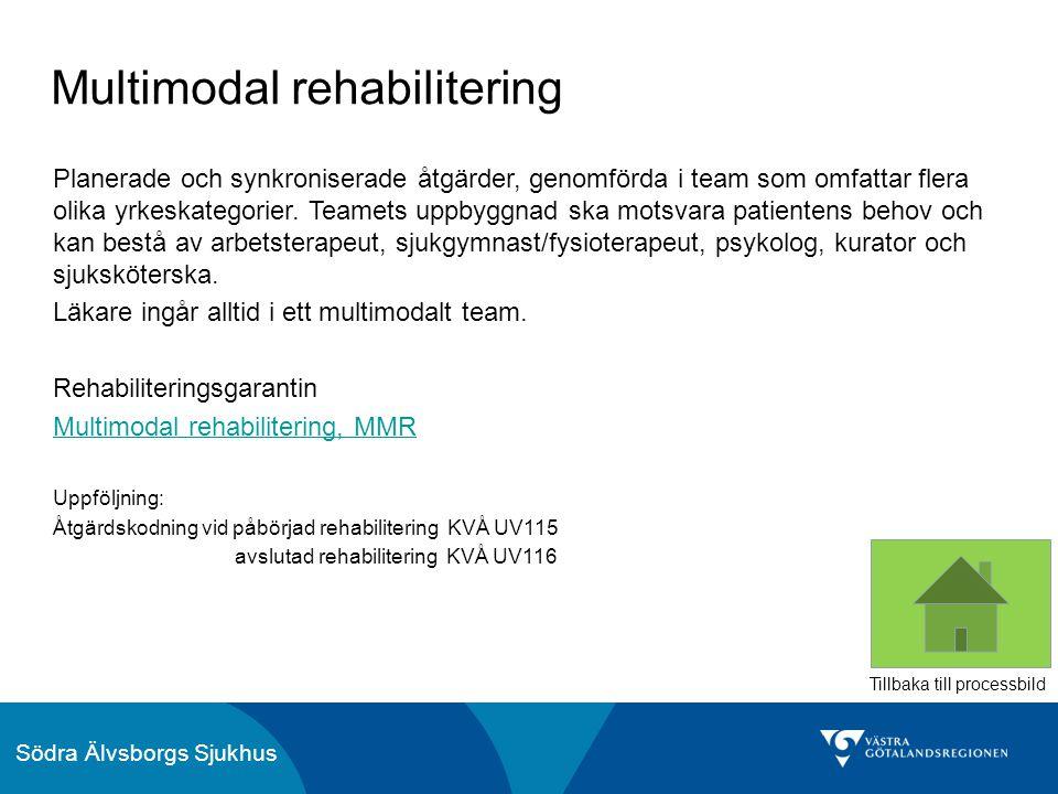 Multimodal rehabilitering