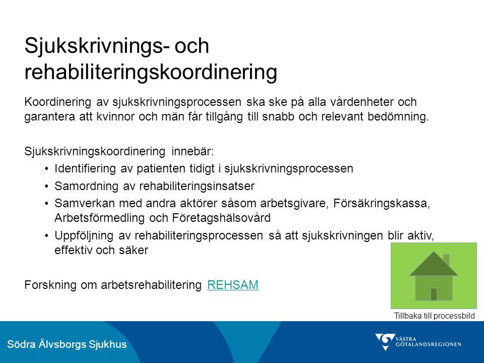 Sjukskrivnings- och rehabiliteringskoordinering