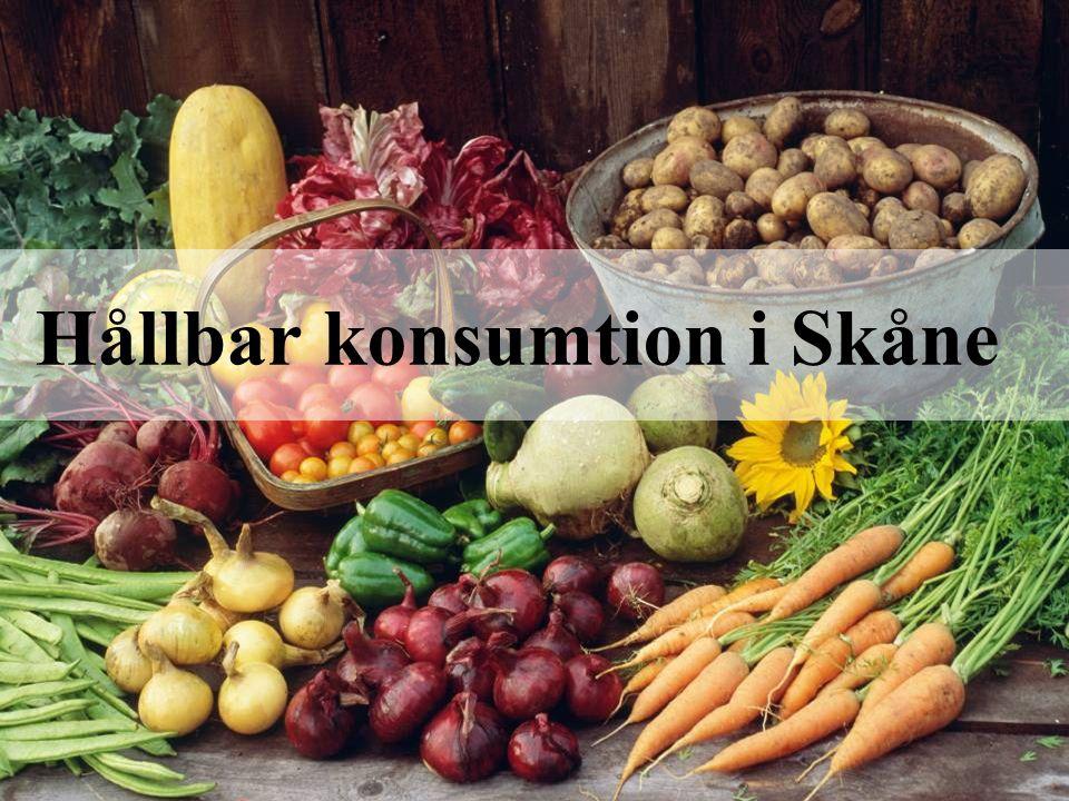 Hållbar konsumtion i Skåne