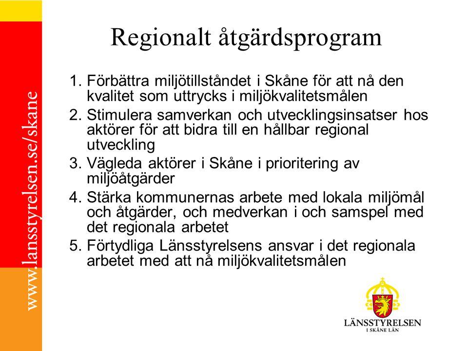 Regionalt åtgärdsprogram