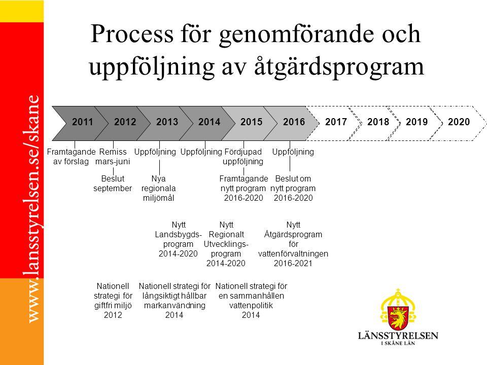 Process för genomförande och uppföljning av åtgärdsprogram