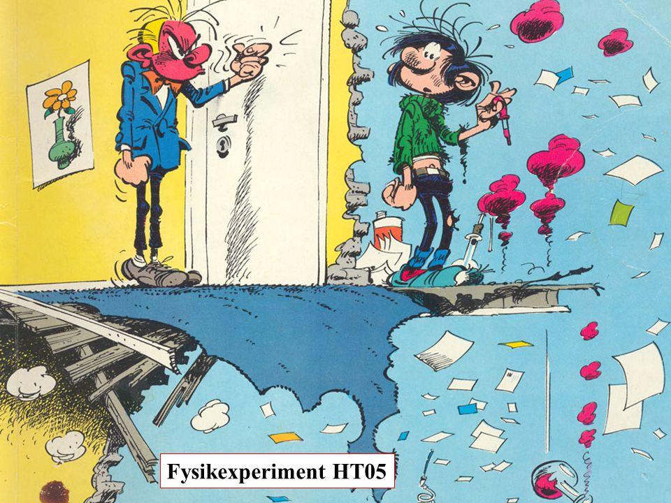 Fysikexperiment HT05