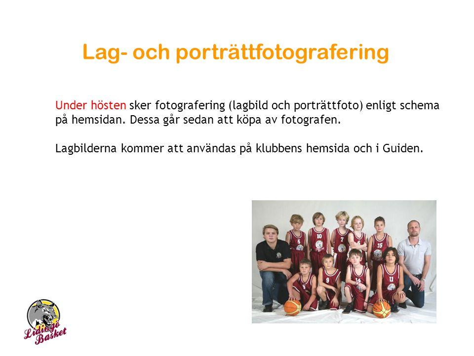 Lag- och porträttfotografering