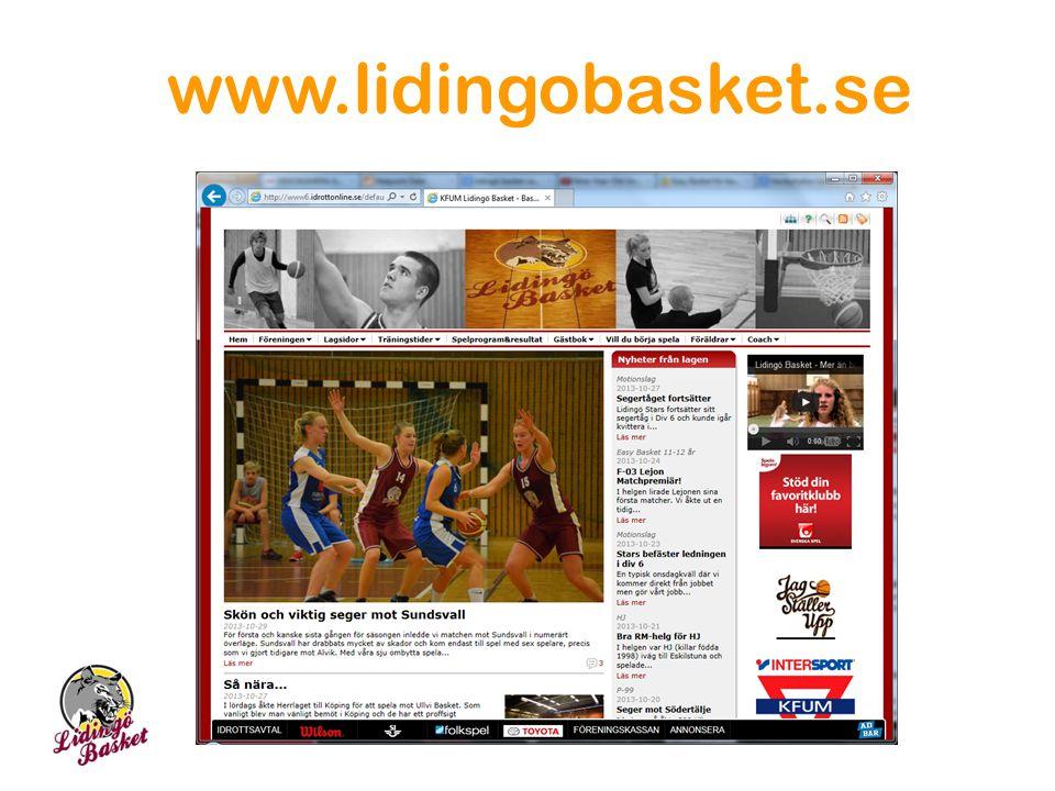 www.lidingobasket.se 22 22 22