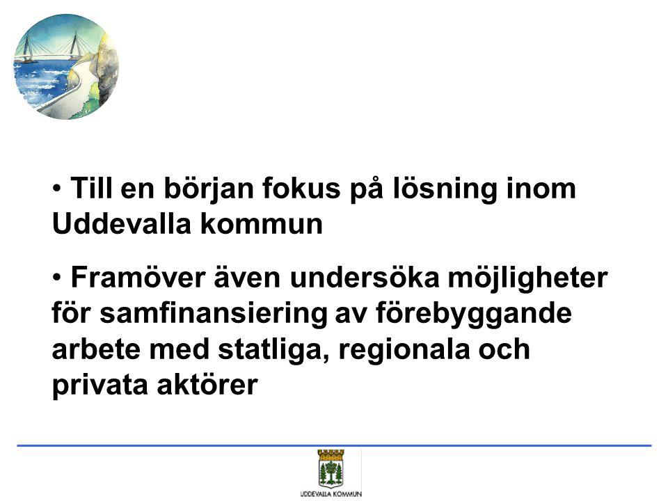 Till en början fokus på lösning inom Uddevalla kommun