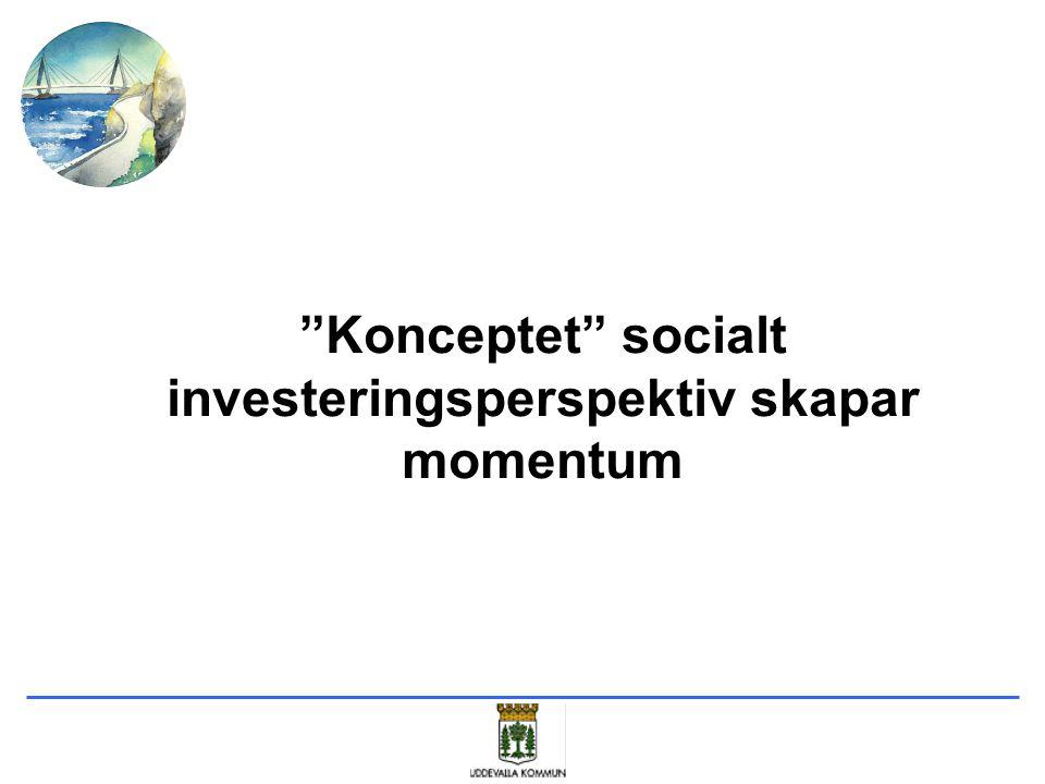 Konceptet socialt investeringsperspektiv skapar momentum