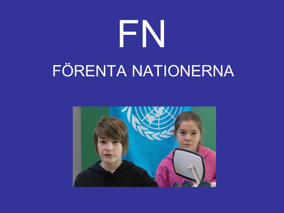 FN FÖRENTA NATIONERNA