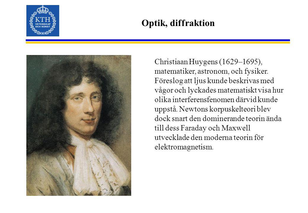 Optik, diffraktion