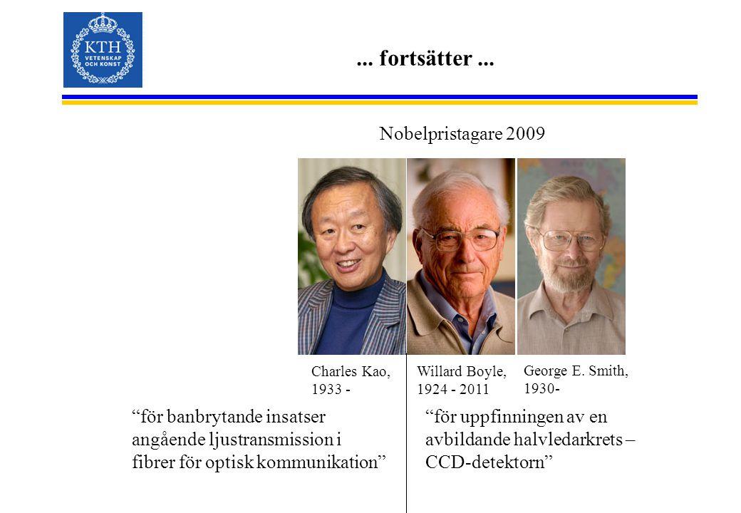 ... fortsätter ... Nobelpristagare 2009
