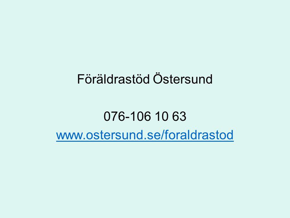 Föräldrastöd Östersund