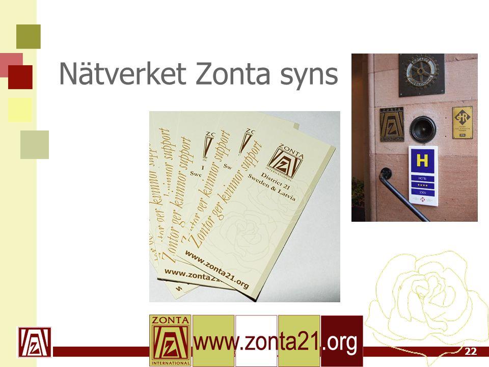 Nätverket Zonta syns