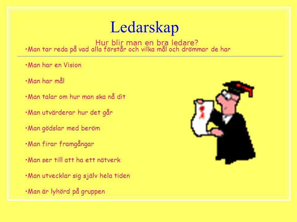 Ledarskap Hur blir man en bra ledare