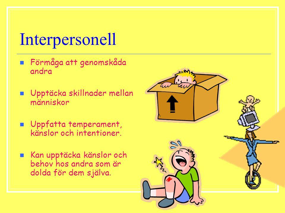 Interpersonell Förmåga att genomskåda andra
