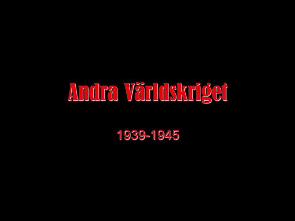 Andra Världskriget 1939-1945