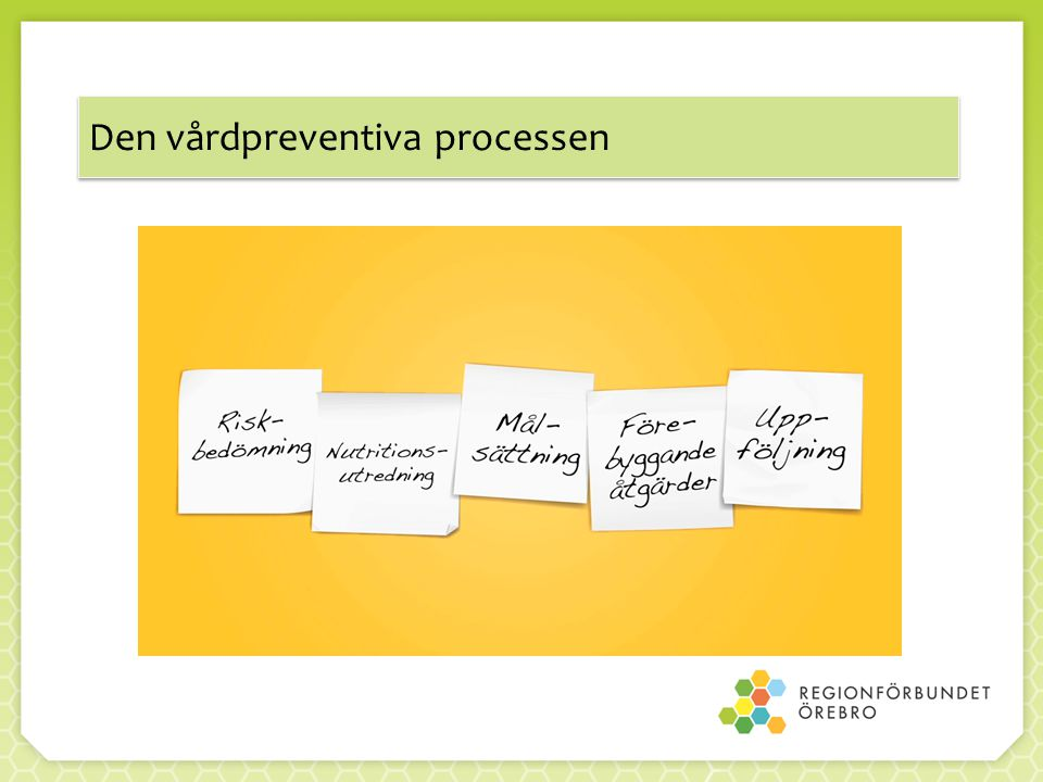 Den vårdpreventiva processen