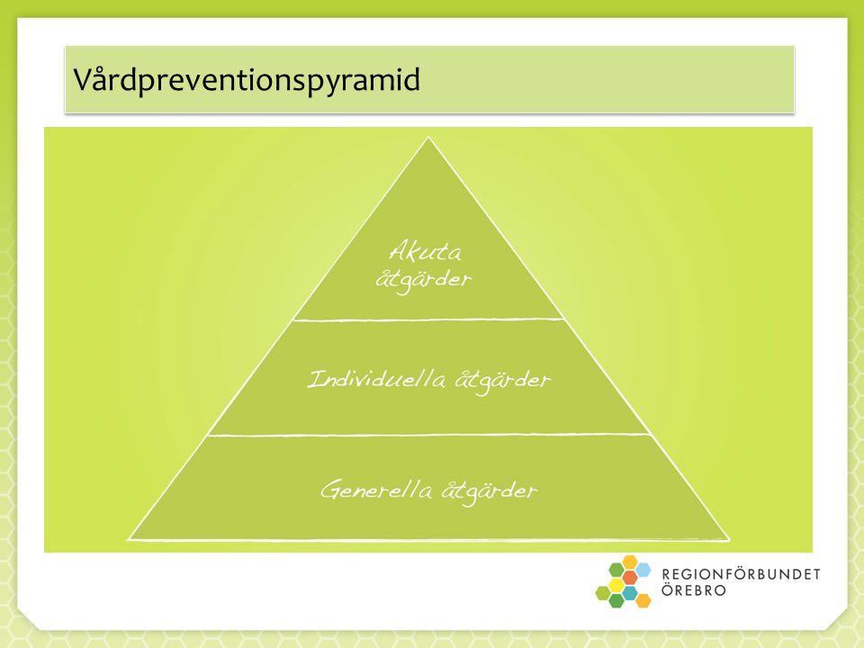 Vårdpreventionspyramid