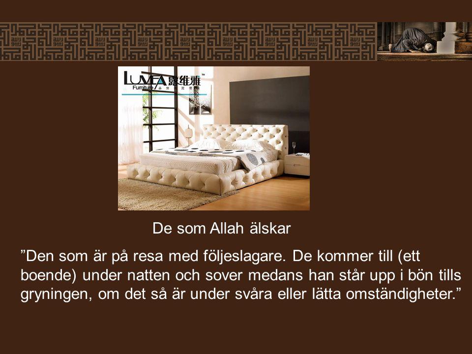 De som Allah älskar