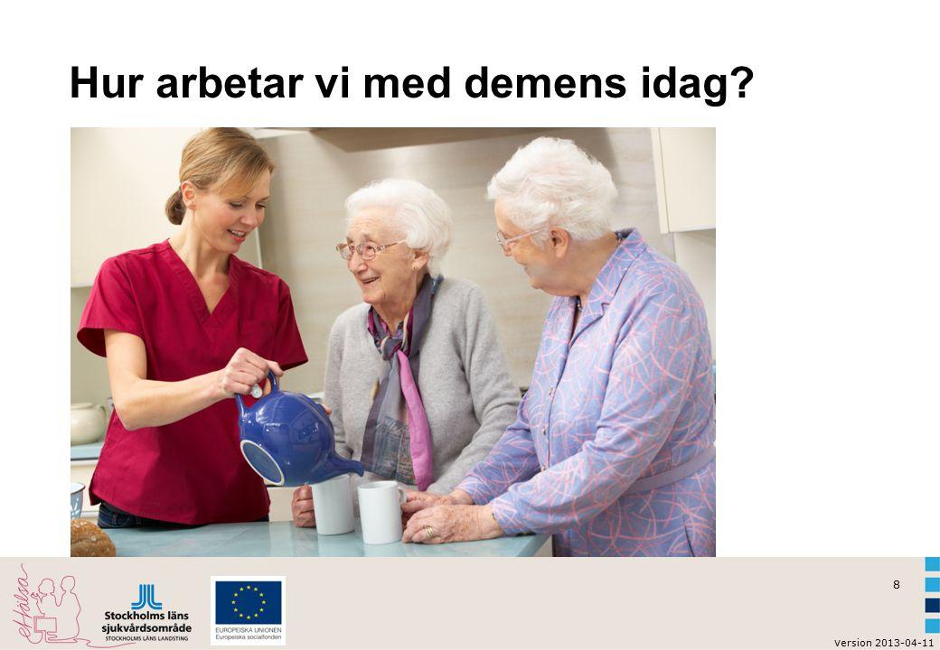 Hur arbetar vi med demens idag