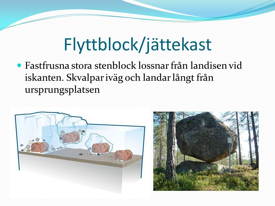Flyttblock/jättekast