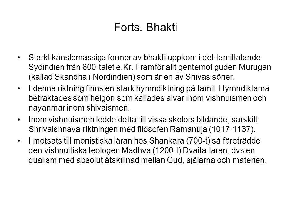 Forts. Bhakti
