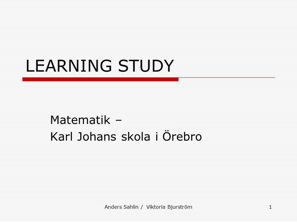 Matematik – Karl Johans skola i Örebro